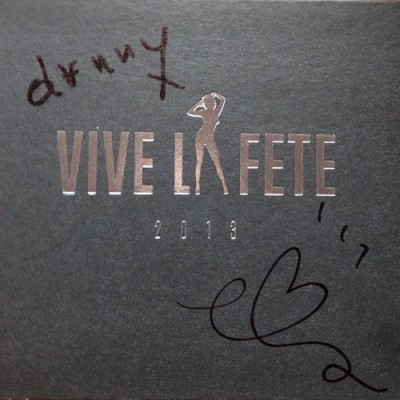 Vive la Fete - 2013 0 signed cd