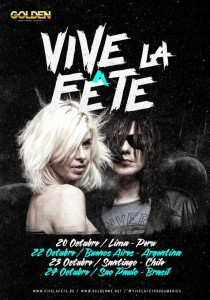 Vive la Fete - Poster South America 2015