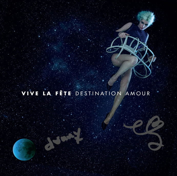 Vive la Fete - Destination Amour signed cd
